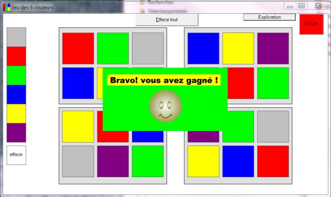 Häufig Jeu des 6 couleurs | Association IDEE UI12